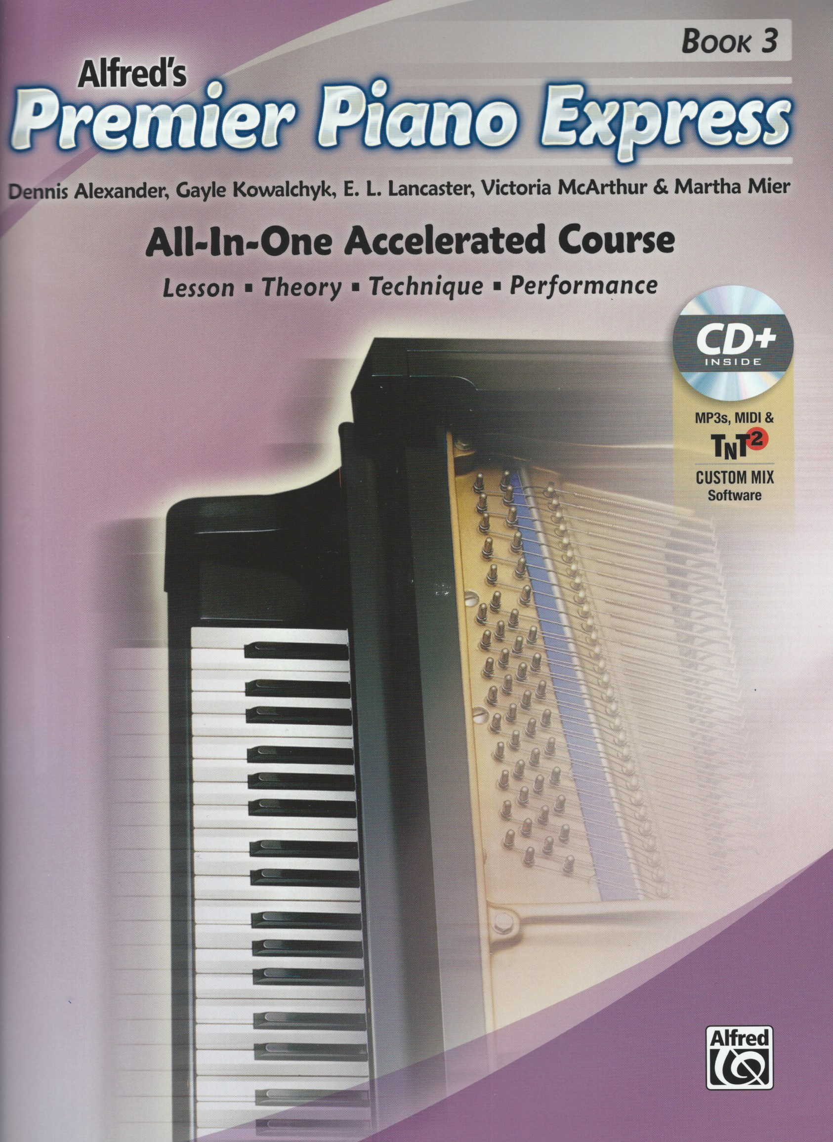 Premier Piano Express Is Designed For Students Who Need A Fast Paced Approach To Study Based On The Concepts And Music From Course